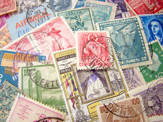 Old Postage Stamps from the entire World.