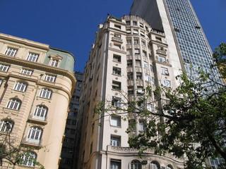 Immeubles du centre de Rio de Janeiro, Brésil