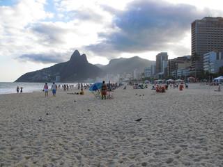 Plage d'Ipanema, Rio de Janeiro, Brésil.