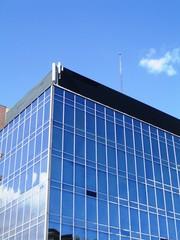 Immeuble futuriste