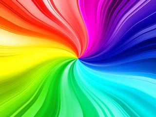 rainbow burst