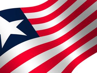 National Flag. Liberia