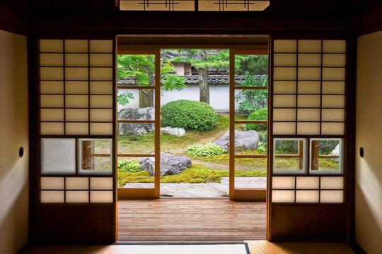 Tatami and Shoji the old Japanese room.