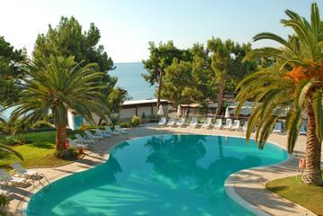 piscine d'hotel