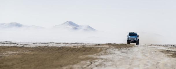 A travers l'hiver sibérien