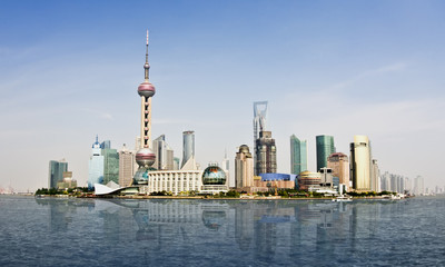 Shanghai Skyline 2010