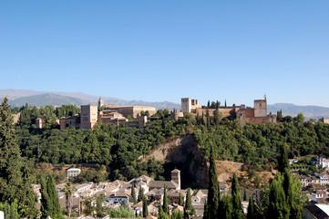 Alhambra de Grenade en Andalousie
