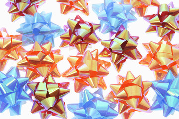 Close Up of Star Bows