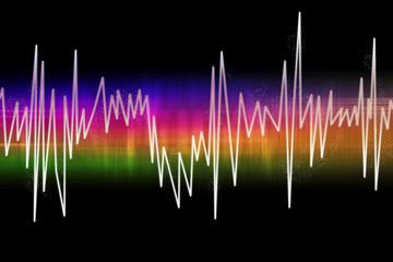 Music-wave colors