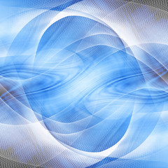 Blue abstract background with some smooth lines in it