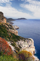 Mani peninsula, southern Greece