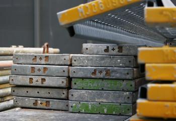 Schalbretter für den Gerüstbau