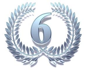 Sechs Silber