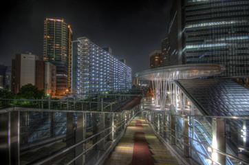 Night scape in Tokyo, Japan