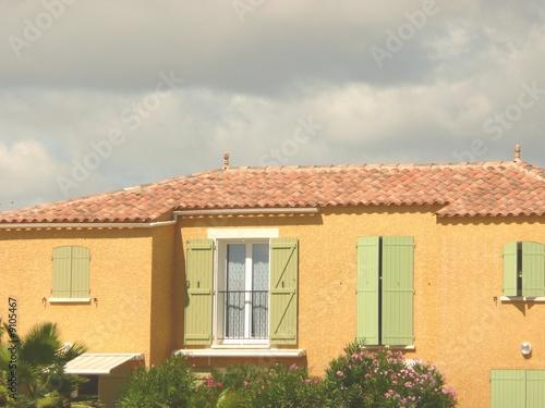 Medtiterranean house maison du sud de la france photo for Achat maison france sud