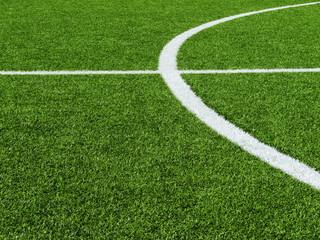 Fußballplatz Rasen-Kreise 3
