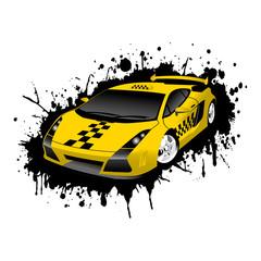 Fantastic Taxi Car