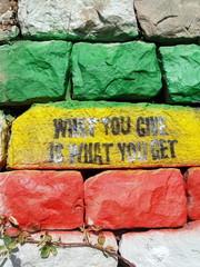 mur et aphorisme
