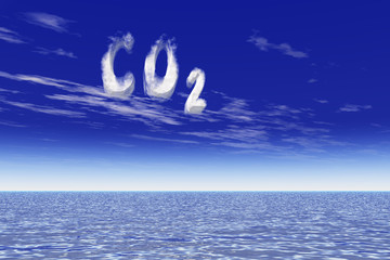 Global warming due to CO2 increase