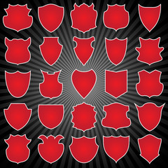 25 different coat of arms - red edition (part 1)