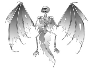 skeletton bat