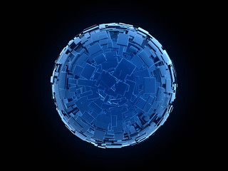 blue_sphere_with_blue_cubes