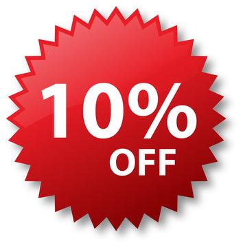 Sale - 10 Percent Off