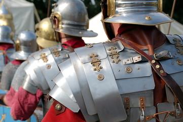 Printed kitchen splashbacks Knights Armures romaines