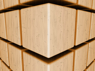 cubes_perspective_in_old_film_style
