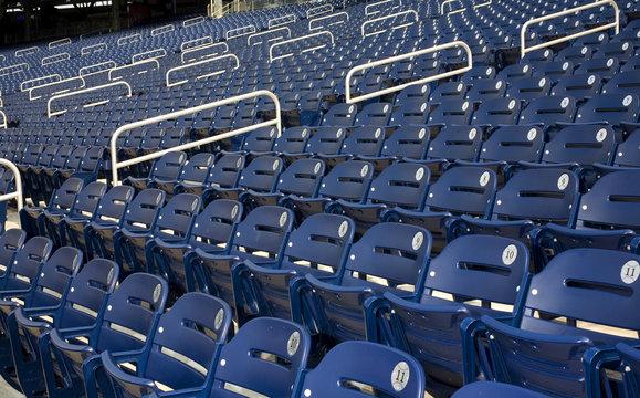 Washington National baseball stadium before game time