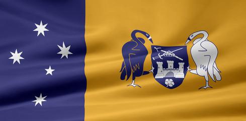 Australian capital territory Flagge