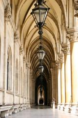 Säulengang Wiener Rathaus