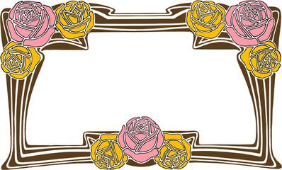 rose classic frame