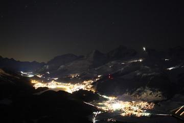 Abendstimmung Berge