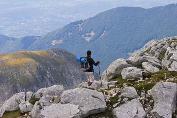 Escursione su Monte Meta- Mainarde(mt.2241)