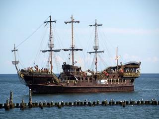 Türaufkleber Schiff Segelschiff, historisch