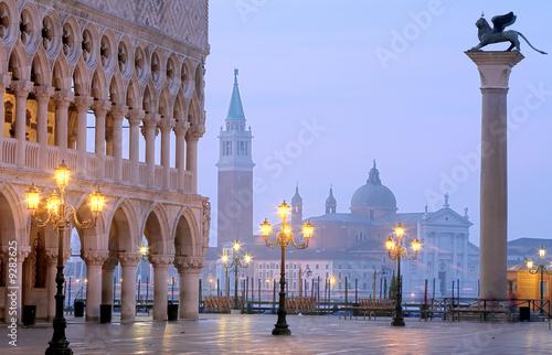 Fototapete Makusplatz Venedig Morgenstimmung