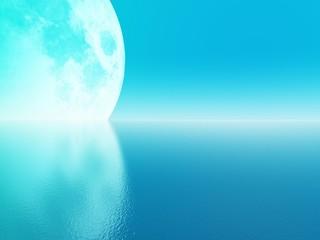 cyan moon