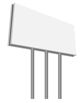 empty bilboard vector illustration