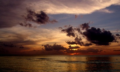 Santo Domingo sunset