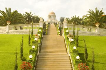 Bahai Temple in Haifa.