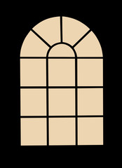 Window Photo Frame For View Or Silhouette