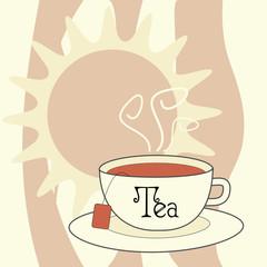 Vector Illustration - Tea Cup