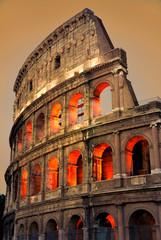 Poster de jardin Rome Colosseum