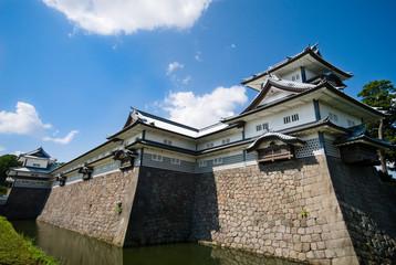 金沢城と堀