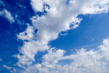 file of clouds