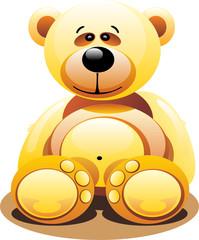 Keuken foto achterwand Beren bear