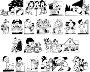 Christmas Season Cartoon Pictures