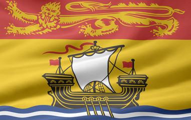 New Brunswick Flagge