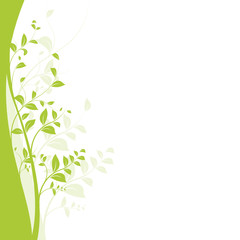 vecteur série SVG, branche d'arbre, jeune pousse vectorielle